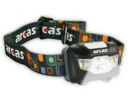 Arcas Headlight ARC5 1 LED+2 Flood light LEDs, 5 W, 160 lm, 4+3 light functions