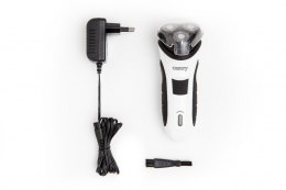 Shaver Camry CR 2915 Warranty 24 month(s), Charging time 8 h, Battery-operated, Number of shaver heads/blades 3, White/Black