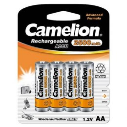 Camelion AA/HR6, 2500 mAh, Rechargeable Batteries Ni-MH, 4 pc(s)