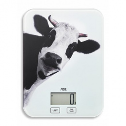 ADE Kitchen Scale KE 1603 INKA Maximum weight (capacity) 5 kg, Graduation 1 g, Display type LCD, Cow print