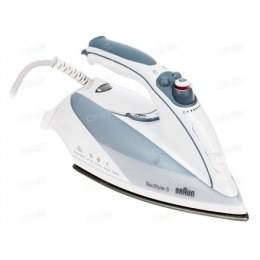 Braun Steam iron TS 535 TP White, 2000 W, Steam, Continuous steam 30 g/min, Steam boost performance 100 g/min, Anti-drip functio