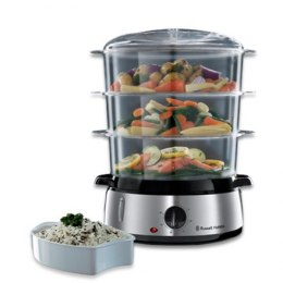 Russell Hobbs Food Steamer 19270-56 Black/ stainless steel, 800 W, Capacity 9 L, Number of baskets 3