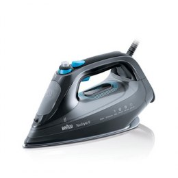 Braun Steam iron SI9188 TexStyle 9 Black, 2800 W, Steam, Continuous steam 50 g/min, Steam boost performance 230 g/min, Auto powe