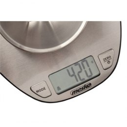 Mesko Kitchen Scale MS 3152 Maximum weight (capacity) 5 kg, Graduation 1 g, Display type LCD, Stainless steel