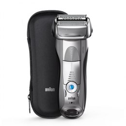 Braun Electric Shaver 7893s Wet use, Rechargeable, Charging time 1 h, Li-Ion, Network / battery, Number of shaver heads/blades
