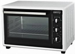Camry CR 6007 42 L, No, Electric Oven, White/Black, 1800 W