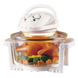 Camry CR 6305 Halogen convection oven, Capacity 12L, Heat-resistant glass, Temperature adjustment, Timer White, 1300 W
