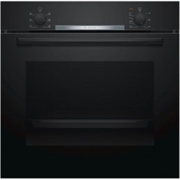 Bosch Oven HBA530BB0S Built-in, 71 L, Black, Eco Clean, A, Push pull buttons, Height 60 cm, Width 60 cm, Integrated timer, Elect