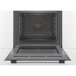 Bosch Oven HBA530BW0S Built-in, 71 L, White, Eco Clean, A, Push pull buttons, Height 60 cm, Width 60 cm, Integrated timer, Elect