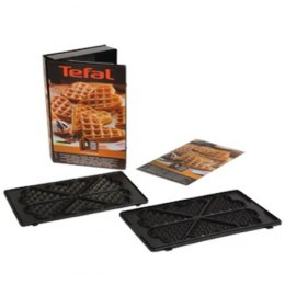 TEFAL XA800612 Heart shape Waffle plates for SW852 Sandwich maker, Black