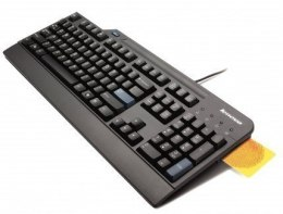 LENOVO USB Smartcard Keyboard - US English with Euro symbol Lenovo Standard, Wired, Keyboard layout English US