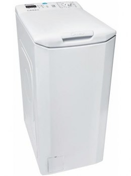 Candy Washing machine CST G370D-S Top loading, Washing capacity 7 kg, 1000 RPM, A+++, Depth 60 cm, Width 40 cm, White, LED, Disp
