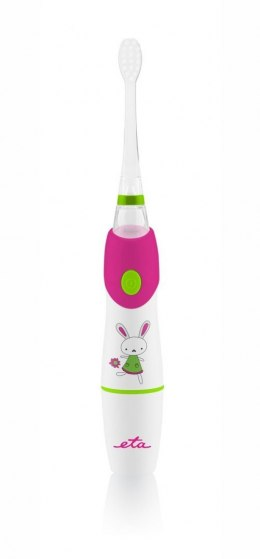 ETA For kids Sonetic 0710 90010 Sonic toothbrush, White/ pink, Sonic technology, 2, Number of brush heads included 2