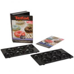 TEFAL XA801112 Donuts plates for SW852 Sandwich maker, Black