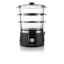 Philips Avance Collection Steamer HD9170/91 Black, Stainless ste, 1350 W, Number of baskets 3