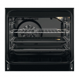 Electrolux Cooker EKC54950OW Hob type Electric, Oven type Electric, White, Width 50 cm, Electronic ignition, Grilling, 58 L, Dep