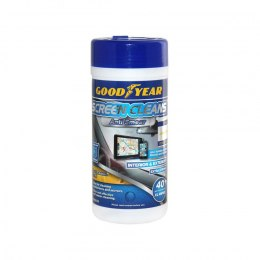 Goodyear Screen Clean interior wipes, 40 pcs.