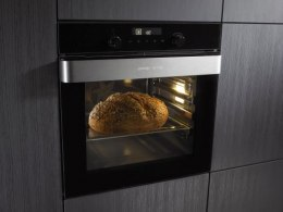 Gorenje Oven with steamer BCS547ORAB Built-in, 50 L, Black, AquaClean, Electronic IconTouch, Height 45.5 cm, Width 60 cm,