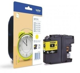 Brother LC125XLY Ink Cartridge, Yellow
