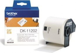 Brother DK-11202 Shipping Labels White, DK, 62mm x 100mm
