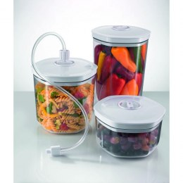 Gorenje Vacuum food storage containers, 3 pcs. SVC03 container set, Transparent/ white