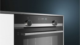 SIEMENS HB578ABS0 Multifunctional Oven, 71 L, Stainless steel, Pyrolysis, Height 59.5 cm, Width 59.5 cm