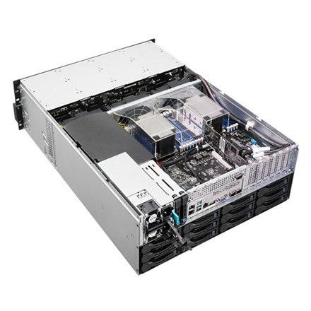 Asus RS540-E8-RS36-ECP Rack (4U), Intel Xeon processor E5-2600 product family, RDIMM DDR4, 2400 MHz, No RAM, No HDD, Up to 36 x