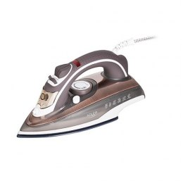 Adler Steam iron AD 5030 Brown, 3000 W, Steam, Continuous steam 20 g/min, Anti-drip function, Anti-scale system, Water tank capa
