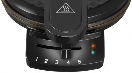 Unold Waffle maker 48235 Black, 1200 W, Round, Number of waffles 1