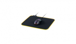 Cooler Master RGB MPA-MP750-M Black, purple, Gaming Mouse Pad, Plastic, cloth, natural rubber, 370 x 270 x 3 mm