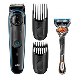 Braun Ultimate Hair Clipper/Beard Trimmer BT 3040 Wet use, Rechargeable, Charging time 8 h, Battery life 1 h, Black