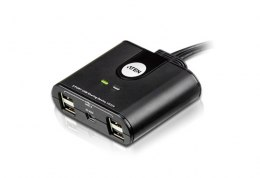 Aten 2-Port USB 2.0 Peripheral Sharing Device Aten