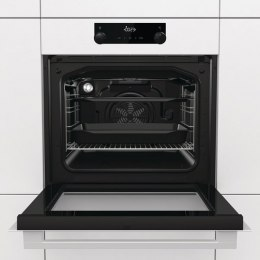 Gorenje Oven BO735E11W 71 L, White, AquaClean, A, Mechanical, Height 60 cm, Width 60 cm, Integrated timer, Electric