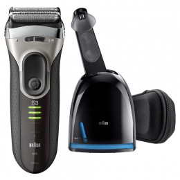 Braun Shaver 3090cc Wet use, Rechargeable, Charging time 1 h, NiMH, Battery powered, Black