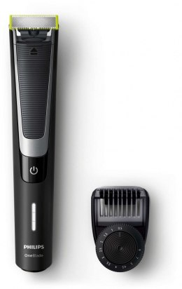 Philips OneBlade Pro Shaver QP6510/20 Warranty 24 month(s), Wet use, Rechargeable, Charging time 1 h, Li-Ion, Battery, Number o