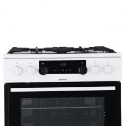 Gorenje Cooker K634WA Hob type Gas, Oven type Electric, White, Width 60 cm, Electronic ignition, Grilling, LED, 71 L, Depth 60