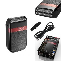 Adler AD 2923 Wet use, Charging time 1 h, Battery powered, Black