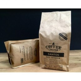 COFFEE CRUISE BRAZIL SANTOS Coffee beans, 100 % arabica, 1000 g