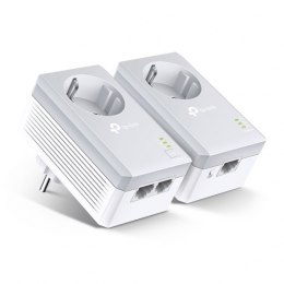 TP-LINK Powerline Adapters Kit TL-PA4022P KIT 10/100 Mbit/s, Ethernet LAN (RJ-45) ports 2, Data transfer rate (max) 600 Mbit/s,