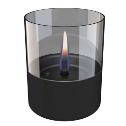 Tenderflame Table burner Lilly 1W Glass Diameter 10 cm, 12 cm, 200 ml, 7 hours, Black