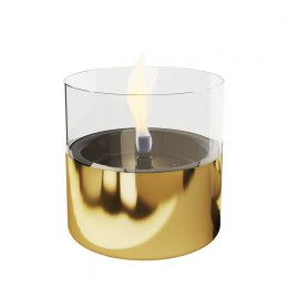 Tenderflame Table burner Lilly 1W Glass Diameter 10 cm, 12 cm, 200 ml, 7 hours, Gold