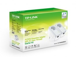 TP-LINK Powerline Adapters Kit TL-PA4010P KIT Ethernet LAN (RJ-45) ports 1x10/100, Data transfer rate (max) 600 Mbit/s, Extra so