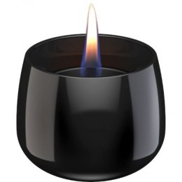 Tenderflame Table burner Crocus 1W Glass Diameter 9.5 cm, Height 7.5 cm, 200 ml, 8 hours, Black