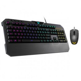Asus TUF Gaming K5 Keyboard and M5 Mouse Combo, Gaming set (Keyboard and mouse), RGB LED light, Wired