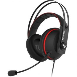 Asus 3.5 mm, TUF GAMING H7 CORE, Red/Black, Built-in microphone