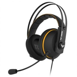 Asus 3.5 mm, TUF GAMING H7 CORE, Yellow/Black, Built-in microphone