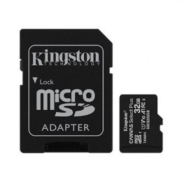 Kingston Canvas Select Plus UHS-I 32 GB, microSDHC, Flash memory class 10, SD Adapter
