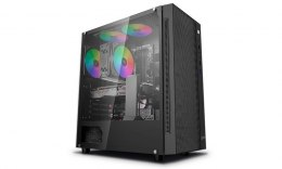 Deepcool MATREXX 55 MESH Side window, Black, E-ATX, Power supply included No