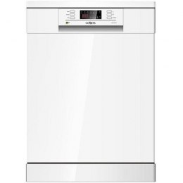 Goddess Dishwasher DFE1267DW10N Free standing, Width 60 cm, Number of place settings 12, Number of programs 6, A +++, Display, A