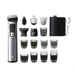 PHILIPS MG7730/15 Trimmer, Cordless, Lithium-ion battery, Operating time 12 min, charging time 1 h, Wet & Dry, Silver